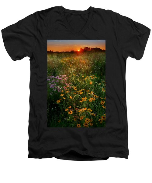 Colors Of Summer Men's V-Neck T-Shirt