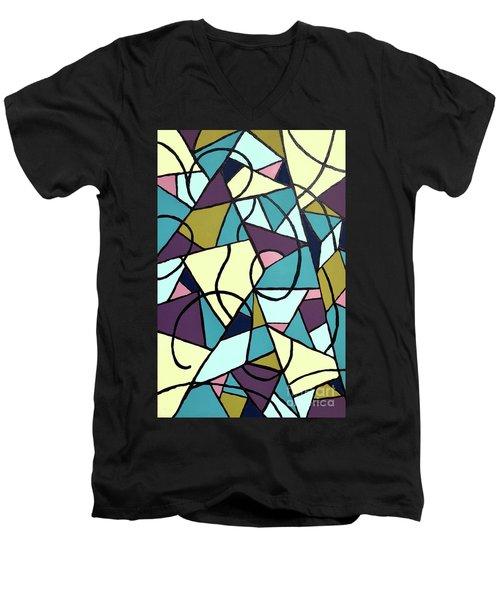 Composition #22 Men's V-Neck T-Shirt