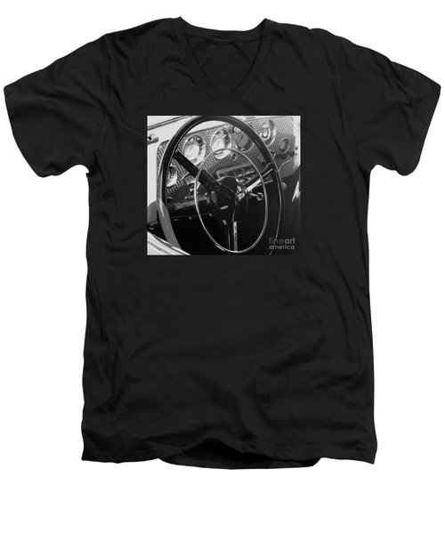 Cord Phaeton Dashboard Men's V-Neck T-Shirt