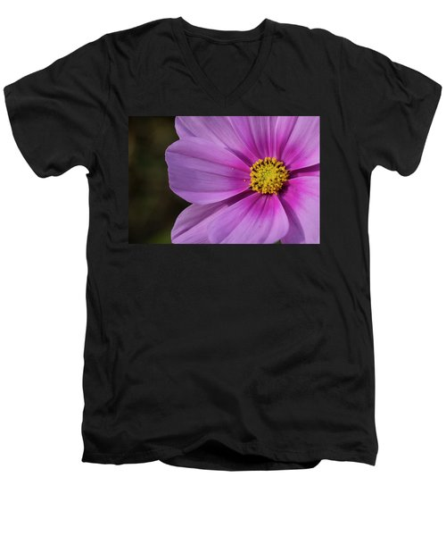 Men's V-Neck T-Shirt featuring the photograph Cosmos by Elvira Butler