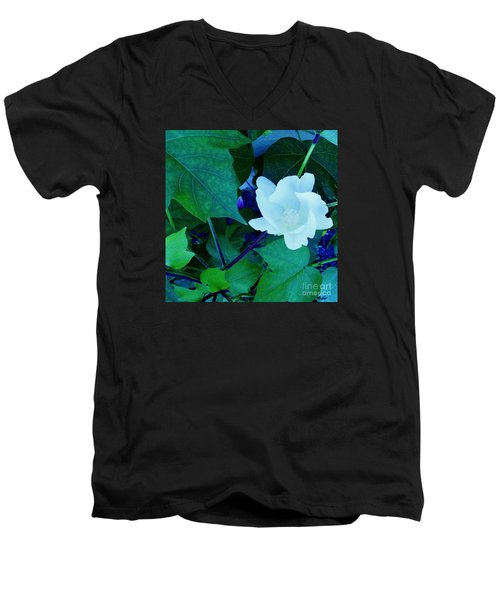 Cotton Blossom Men's V-Neck T-Shirt