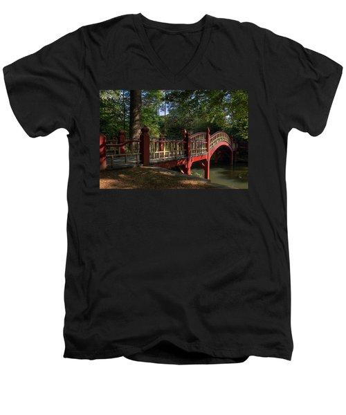 Crim Dell Bridge Men's V-Neck T-Shirt