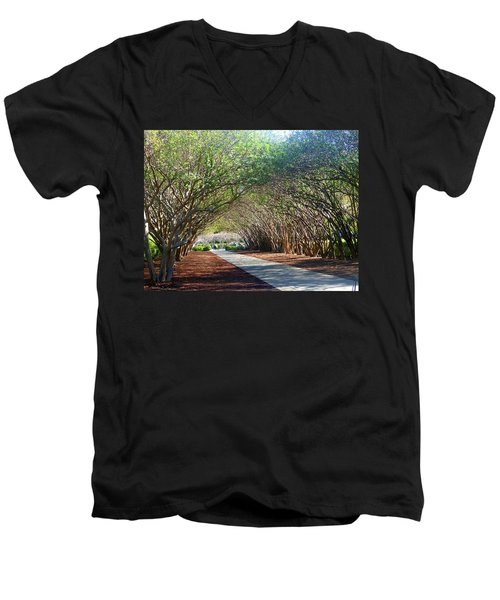 Dallas 1 Of 5 Men's V-Neck T-Shirt by Tina M Wenger