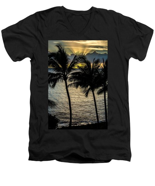 Day Is Done Men's V-Neck T-Shirt