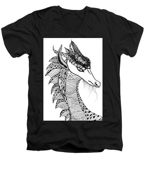 Dragon Men's V-Neck T-Shirt