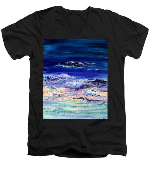Dusk Imagining Men's V-Neck T-Shirt