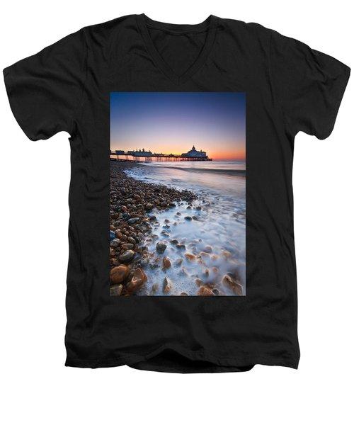 Eastbourne Sunrise Men's V-Neck T-Shirt