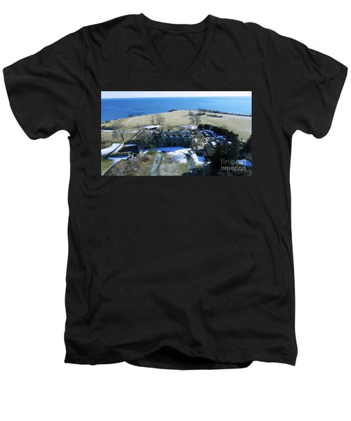 Eolia Mansion Men's V-Neck T-Shirt