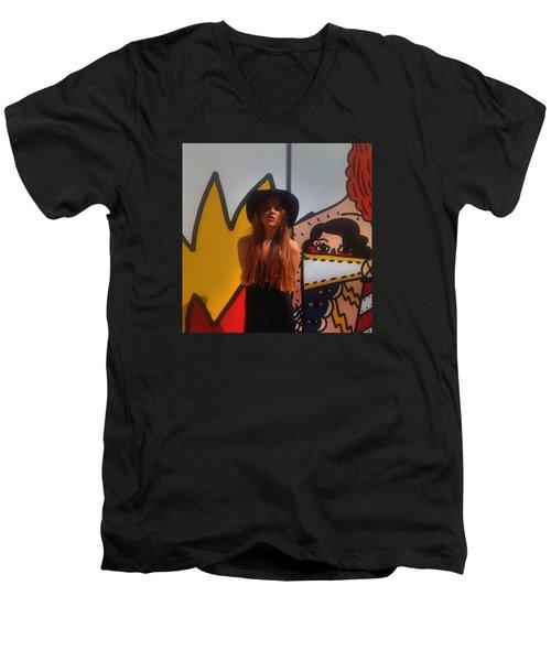 Fashion Men's V-Neck T-Shirt