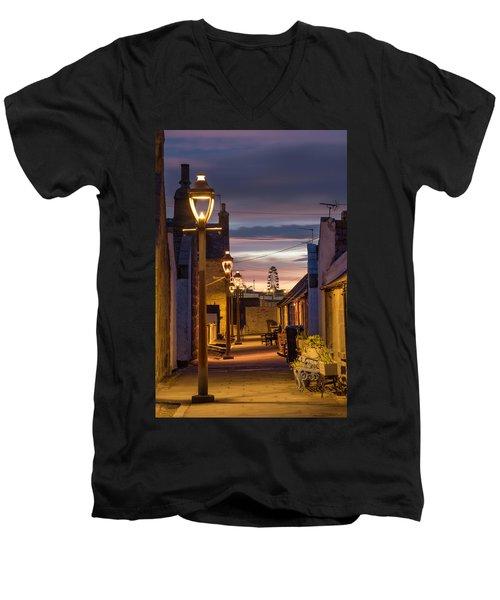 Fittie At Night Men's V-Neck T-Shirt