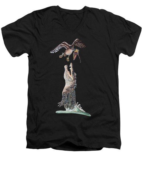 Florida Gator Men's V-Neck T-Shirt