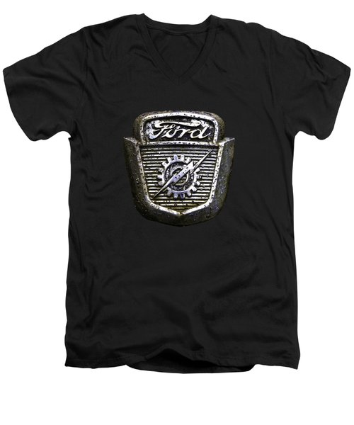 Ford Emblem Men's V-Neck T-Shirt