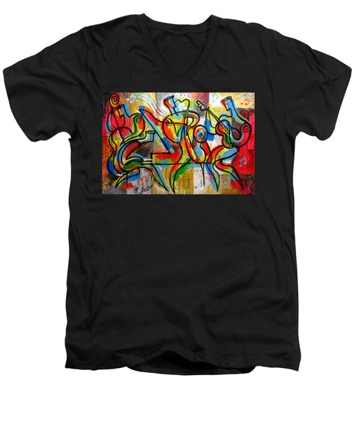 Free Jazz Men's V-Neck T-Shirt