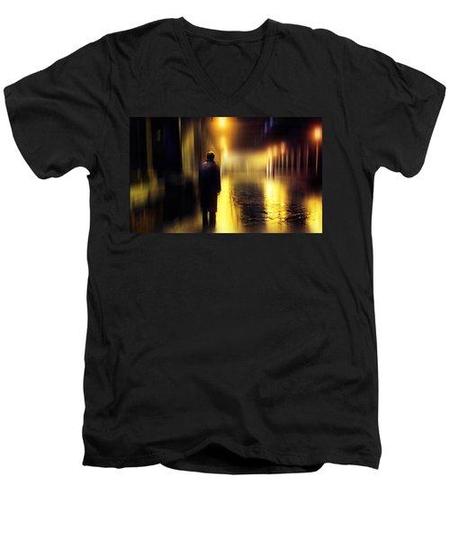 Ghost Of Love  Men's V-Neck T-Shirt