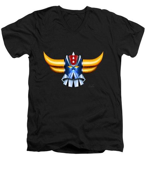 Grendizer Men's V-Neck T-Shirt