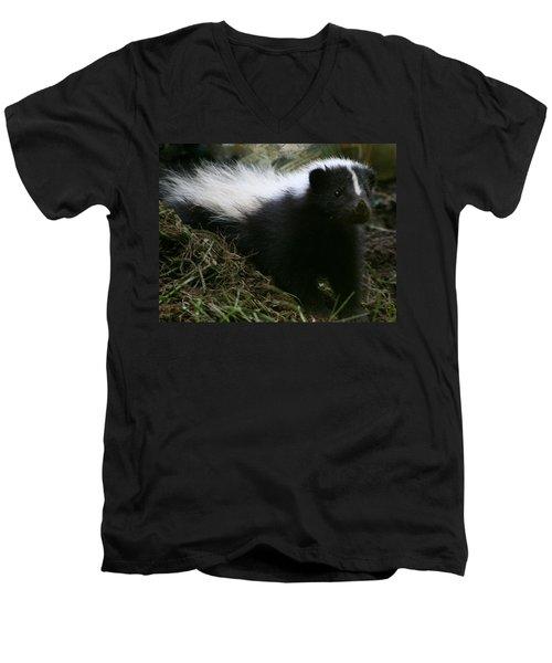 Here Kitty Kitty Men's V-Neck T-Shirt