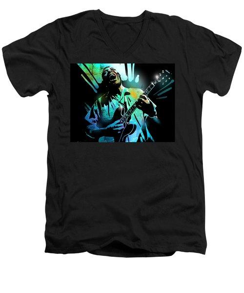 Howlin Wolf Men's V-Neck T-Shirt