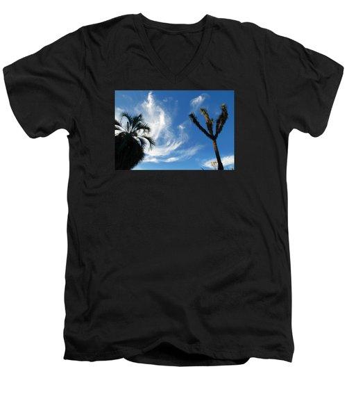 @huntington Gardens Los Angeles Men's V-Neck T-Shirt