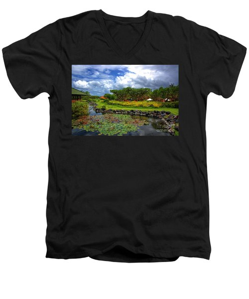 In Bali Men's V-Neck T-Shirt