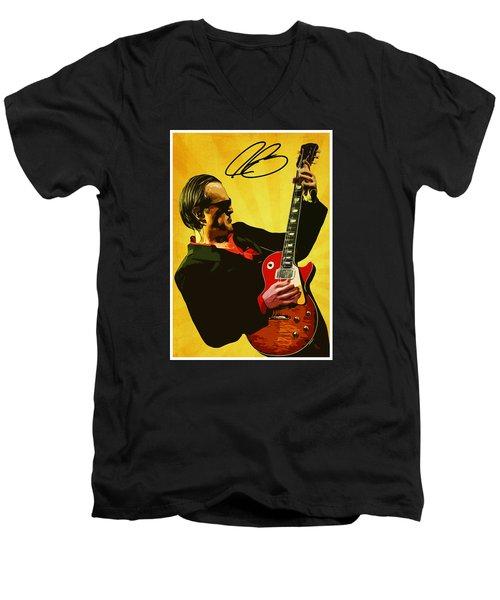 Joe Bonamassa Men's V-Neck T-Shirt