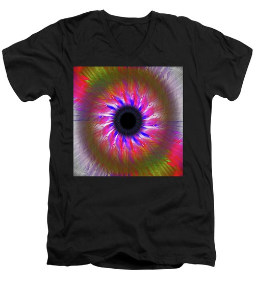 Keeping My Eye On You Men's V-Neck T-Shirt