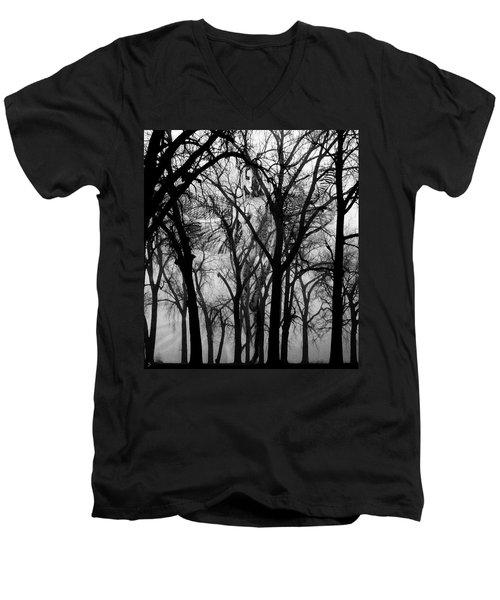 Leta Men's V-Neck T-Shirt