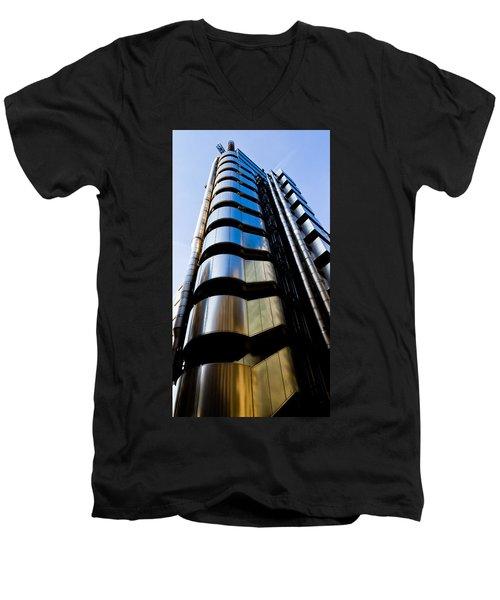 Lloyds Of London  Men's V-Neck T-Shirt