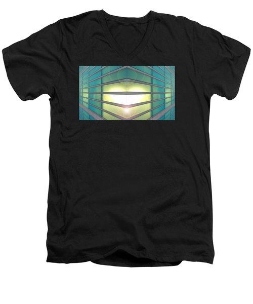 Luminous Corner Men's V-Neck T-Shirt