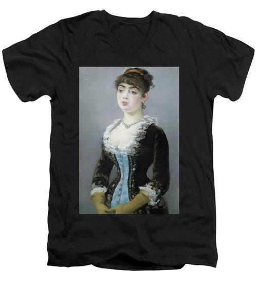 Madame Michel-levy Men's V-Neck T-Shirt