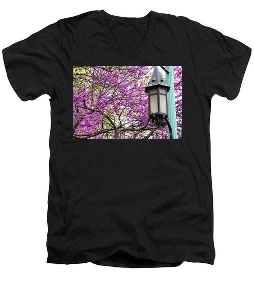 Michigan State University Spring 7 Men's V-Neck T-Shirt