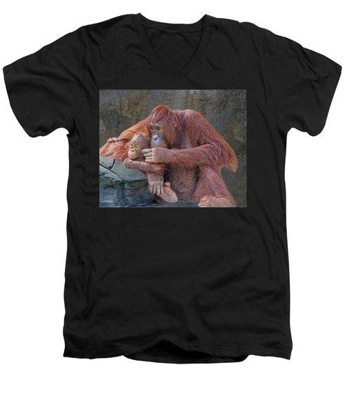 Motherhood 4 Men's V-Neck T-Shirt