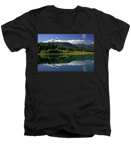 Mount Baker Men's V-Neck T-Shirt