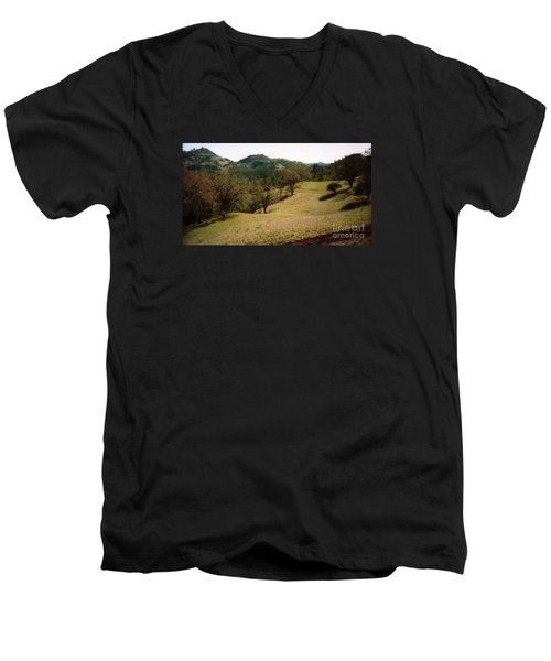 Napa Valley Hills Men's V-Neck T-Shirt