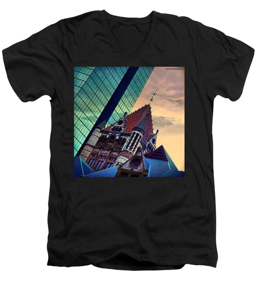 Photoshopping Throwback Thursday - Men's V-Neck T-Shirt