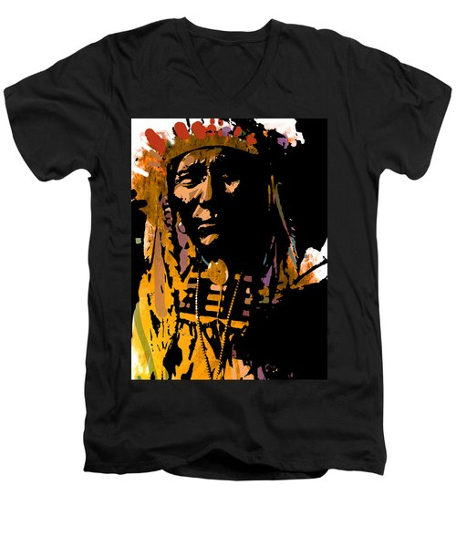 Proud Chief Men's V-Neck T-Shirt