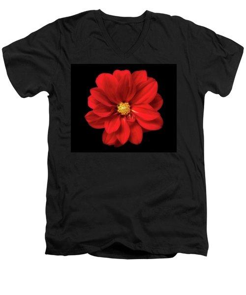 Red Summer Memory 2 Men's V-Neck T-Shirt