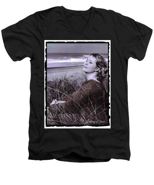 Relax... Men's V-Neck T-Shirt