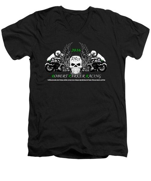 Robert Parker T004 Men's V-Neck T-Shirt