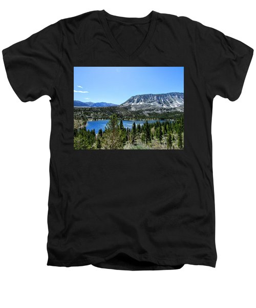 Rock Creek Lake Men's V-Neck T-Shirt
