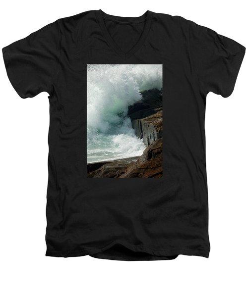 Salty Froth Men's V-Neck T-Shirt