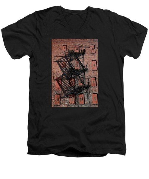 Shadows Men's V-Neck T-Shirt by Karen Harrison