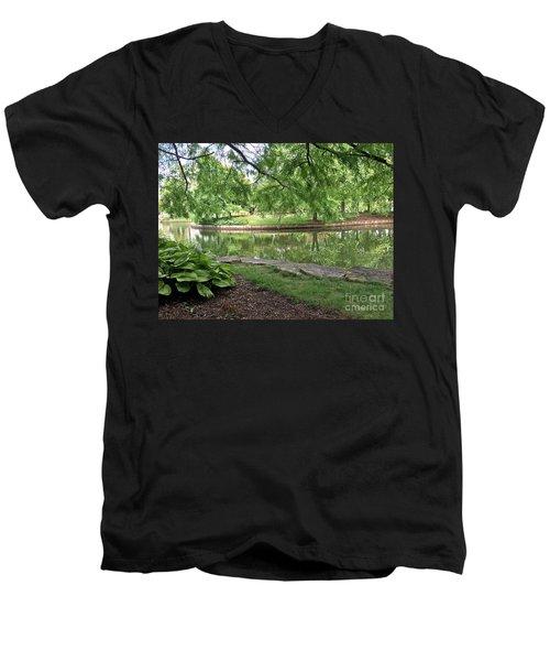 So Still Men's V-Neck T-Shirt