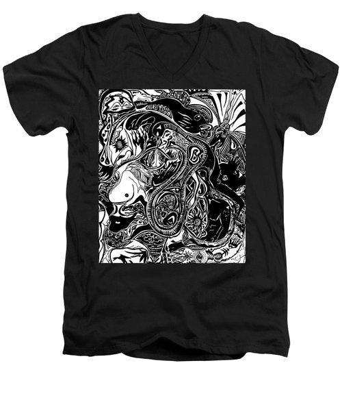 Spiritualbecoming Men's V-Neck T-Shirt