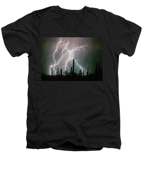 Striking Photography Men's V-Neck T-Shirt
