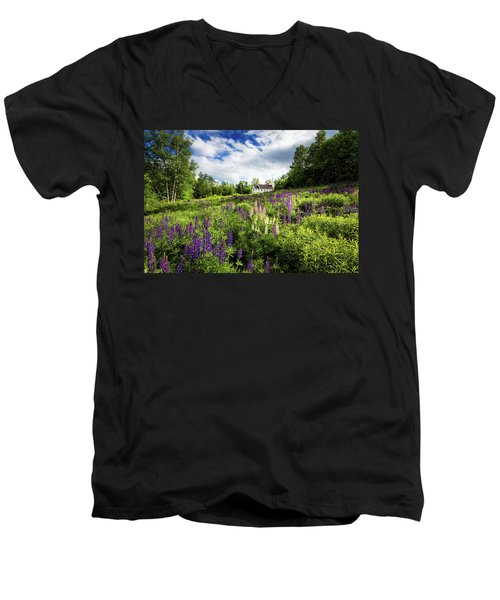 Men's V-Neck T-Shirt featuring the photograph Sugar Hill by Robert Clifford