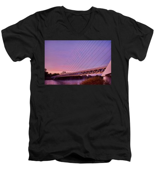 Sundial Bridge Men's V-Neck T-Shirt