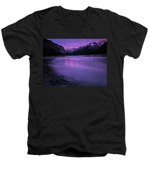 Sunwapta River Men's V-Neck T-Shirt