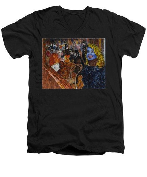 Susan Lautrec Men's V-Neck T-Shirt