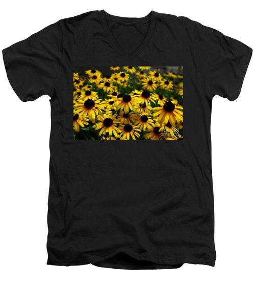 Sweet Flowers Men's V-Neck T-Shirt