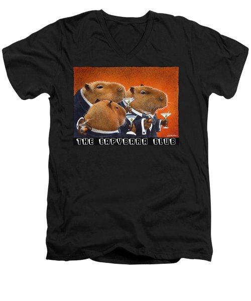 The Capybara Club Men's V-Neck T-Shirt